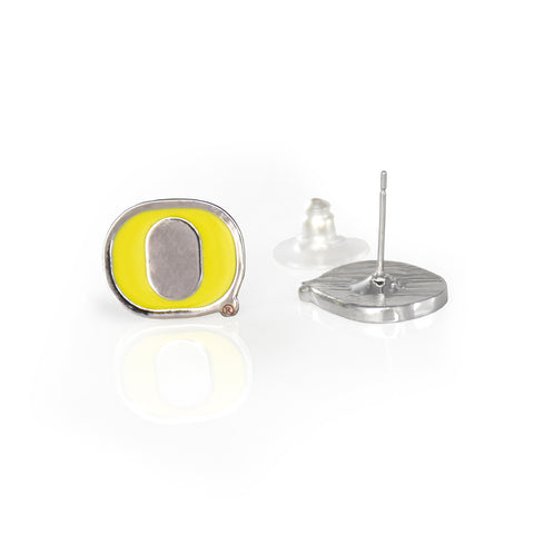 Oregon Ducks Post Earrings