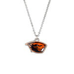 Oregon State Fan Necklace