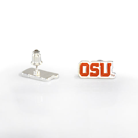 Oregon St. Post Earrings