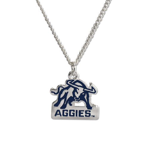 Utah State Aggie Fan Necklace