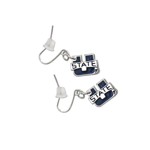 Utah State Aggie Fan Earrings