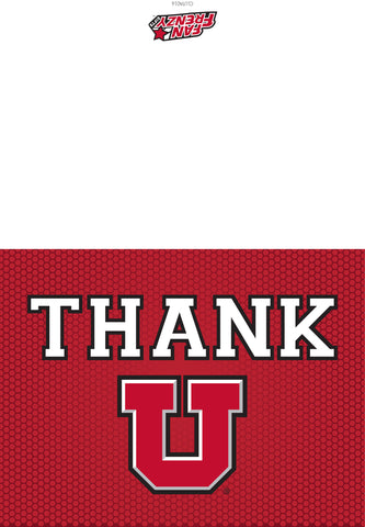 U of U Thank You Card (10 Pack)