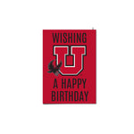 U of U Happy Birthday Swoop Card