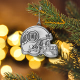 University of Utah Metal Helmet Ornament