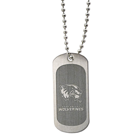 Utah Valley Dog Tag