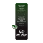 Utah Valley Bookmark/with Pin