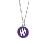 Weber State Cut Out Necklace