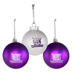 Weber State Bulb Ornament Set