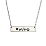 Weber State Wildcats Bar Necklace