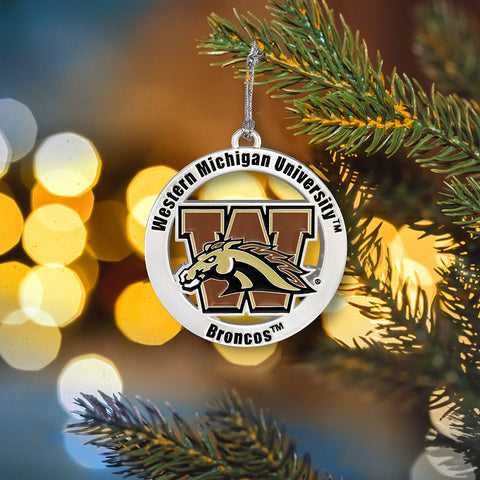 Western Michigan Ornament