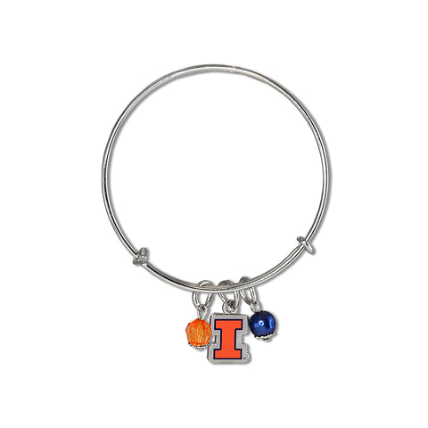 Illinois Fighting Illini Bangle Bracelet