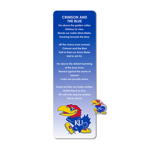 University of Kansas Pin & Bookmark