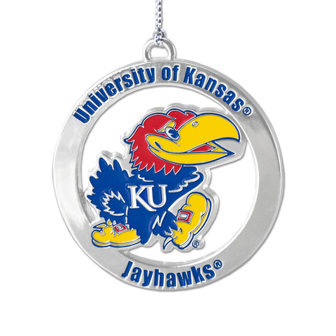 University Of Kansas Jayhawks Decorative Ornaments