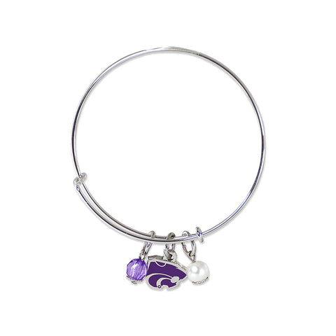 Kansas St Bangle Bracelet
