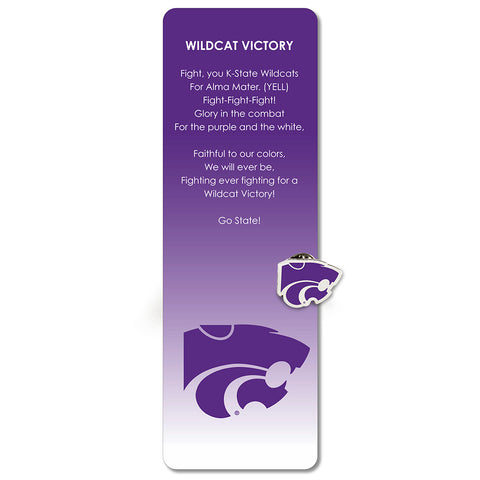 Kansas State Bookmark and Pin
