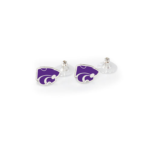 Kansas State Post Earrings