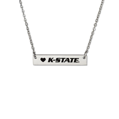 Kansas State Wildcats Bar Necklace