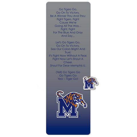 University of Memphis Tigers Bookmark and Pin