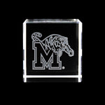 University of Memphis Tigers Crystal Cube