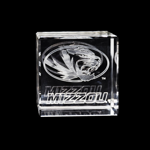 University of Missouri Tigers Crystal Cube