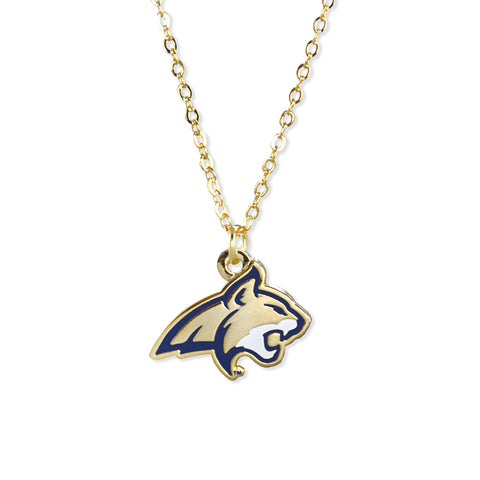 Montana St. Fan Necklace