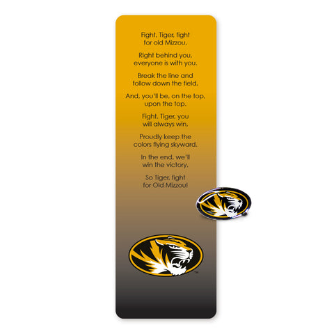 Missouri Mizzou Bookmark and Pin