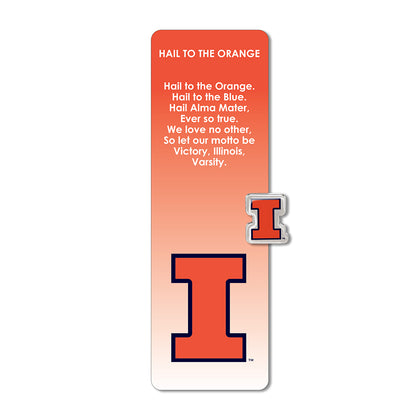 Illinois Fighting Illini Bookmark and Pin