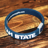 Utah State University Pebble Silicone Bracelet