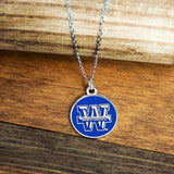 Wayland Baptist University Pioneer Circle Necklace