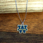 Wayland Baptist University Pioneers Fan Necklace