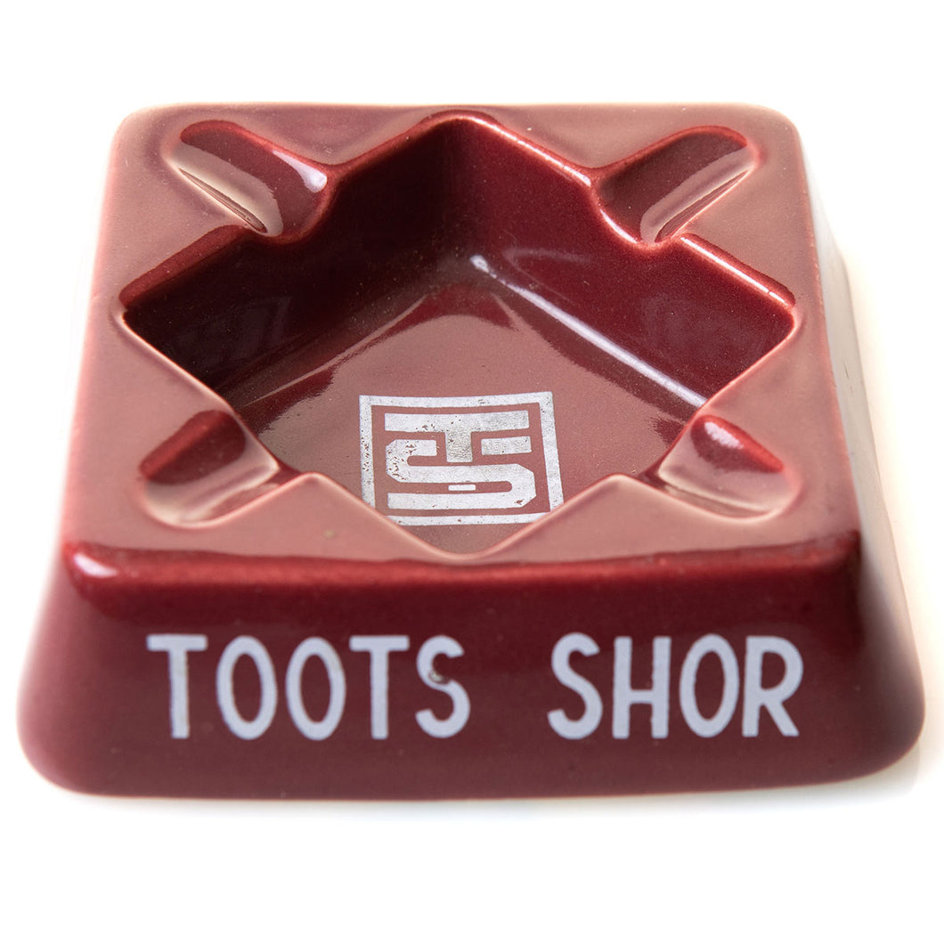 Toots Shor Ashtray
