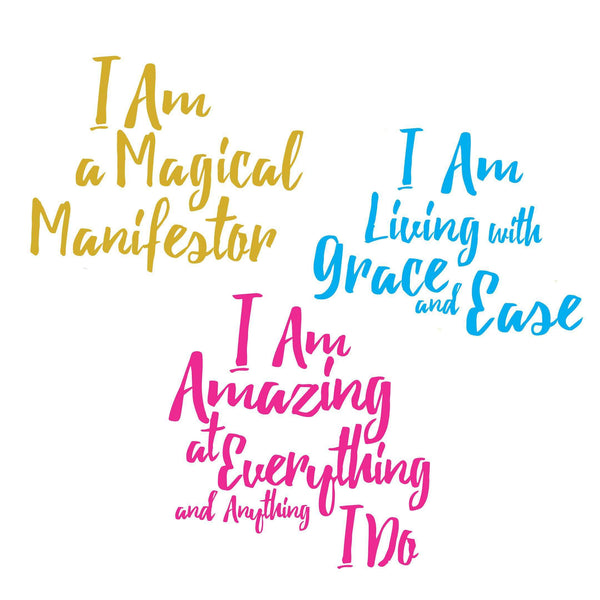 Mirror Mirror <br> Mirror Affirmation Decals