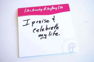 PleaseNotes <BR> Affirmation-Filled <BR>Sticky Notes