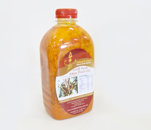 EPO PUPA - 100% Pure Red Palm Fruit Oil (Dende) 1 litre