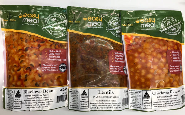 Vegan Bean Dish Essentials 3 Pack - 5% off