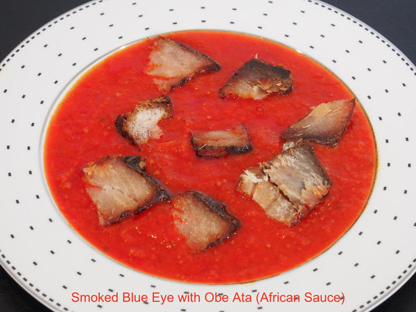 African Style Smoked Fish