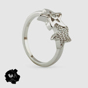 Pure Silver Love Ring - Boutique Dheu