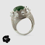 Royal Sterling silver Crown Ring
