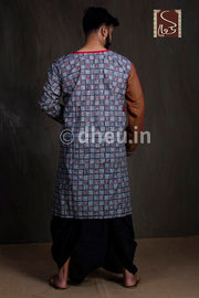 Ready to Wear Dhoti-Silk - Boutique Dheu
