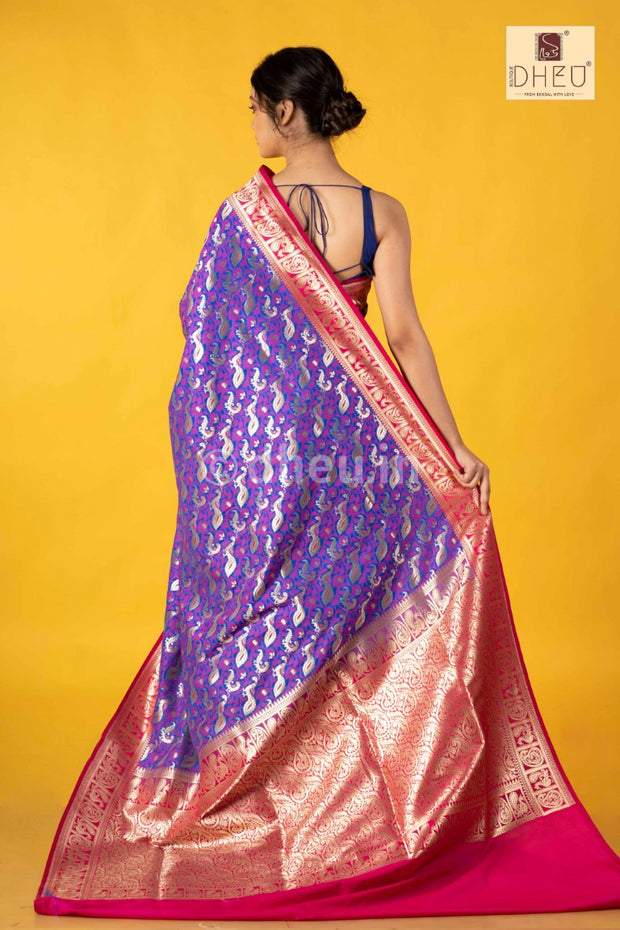 Royal Opara Silk Saree - Boutique Dheu