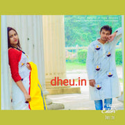 Diya Couple Set-Saree-Kurta - Boutique Dheu