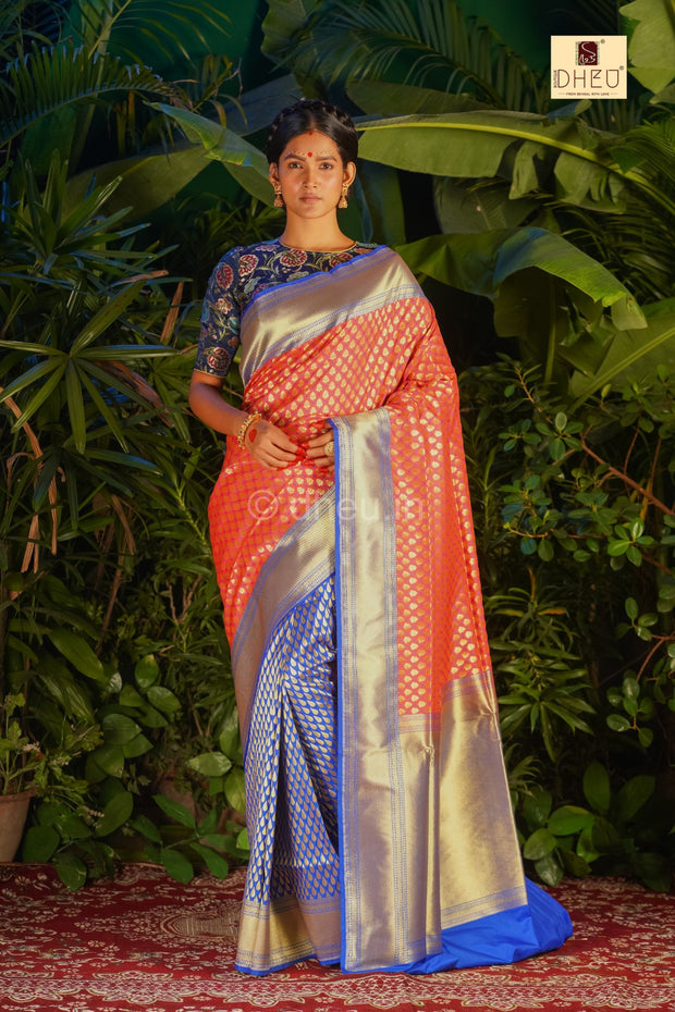 Pure Opara Bridal Saree