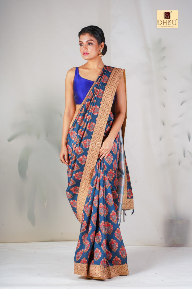 Diagonals - Designer Saree