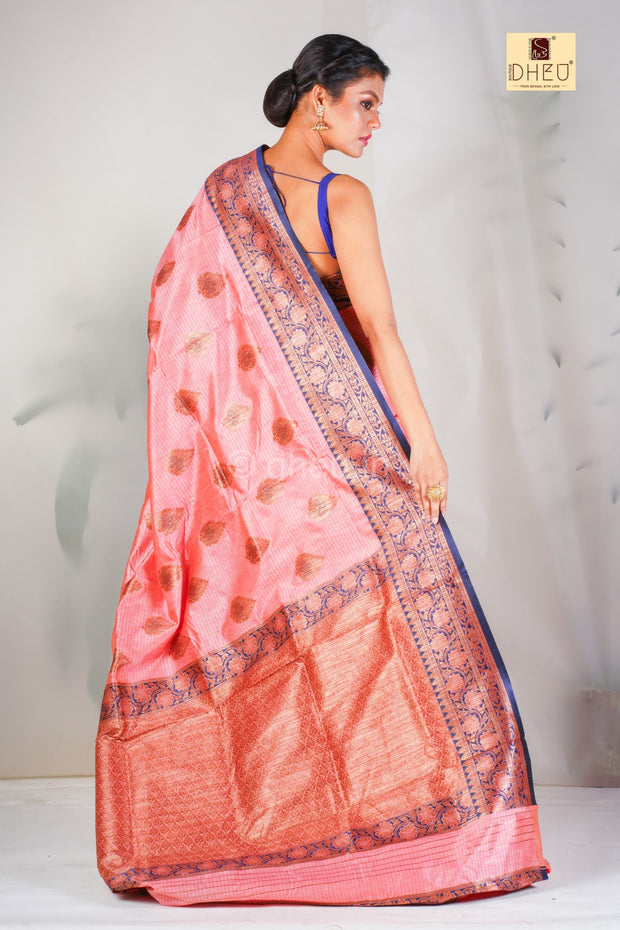 DHEU | Woven Fusion Of Banarasi & Raw Silk