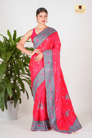 Dream Girl -Designer Silk Saree