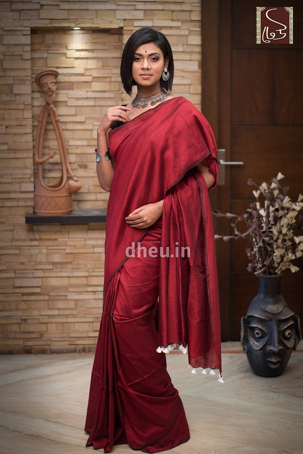 Albeli – The Urban Drapes-Maroon