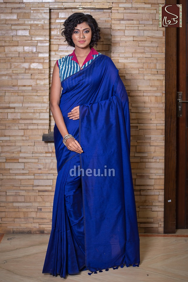Albeli – The Urban Drapes-Royal Blue - Boutique Dheu