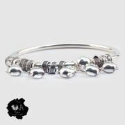 Pure Silver Bangle for Her