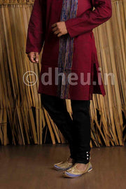 Silk Pant- Churidar Style - Boutique Dheu