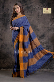 Jharna Khadi – Handloom pure Cotton Saree - Boutique Dheu